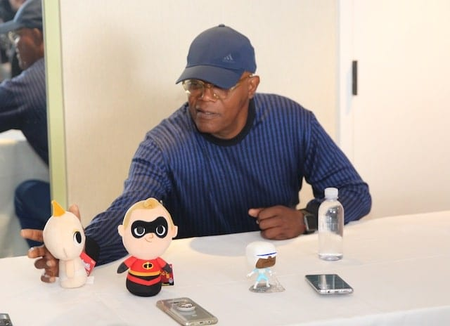 Samuel L Jackson Interview