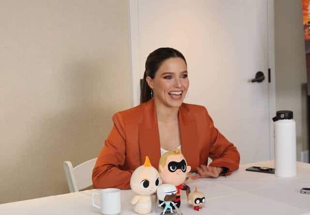 Sophia Bush Incredibles 2 Interview