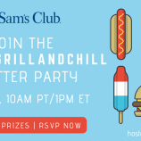 Join Us for the #SamsGrillAndChill Twitter Party on 6/28!
