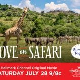 "Hallmark Channel's #SummerNights ""Love on Safari"" Premiering Saturday, July 28th at 9pm/8c! #LoveonSafari"