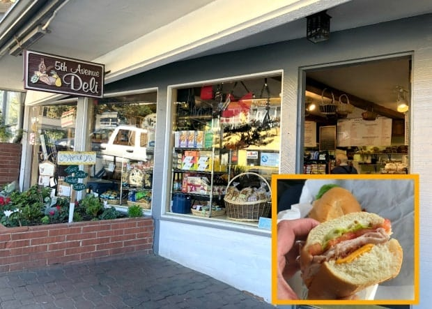 5th Avenue Deli Carmel California