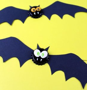 Bottle Cap Bat Magnet Craft