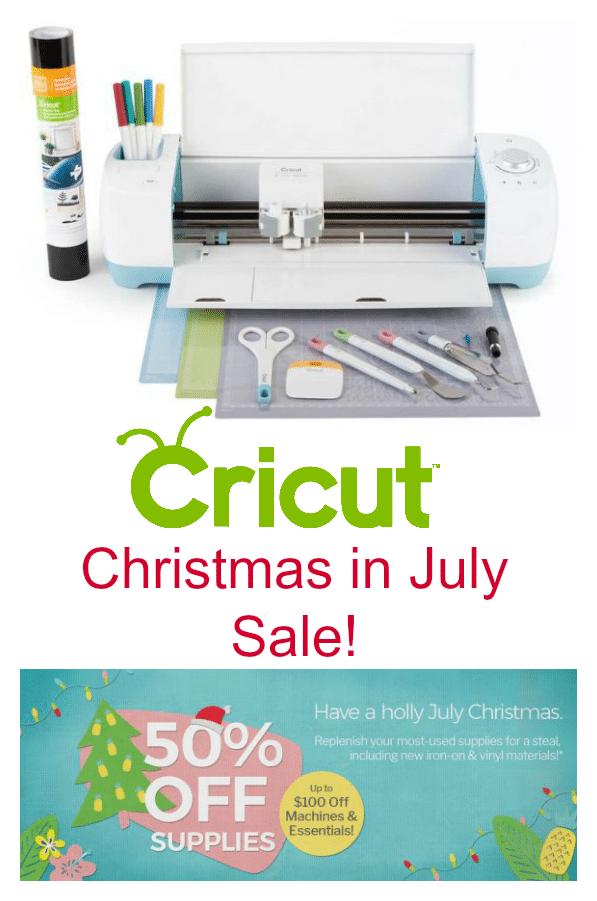 Cricut Christmas in July Sale