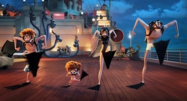 Hotel Transylvania 3 Diving