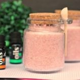 Homemade Pink Himalayan Salt Scrub Recipe