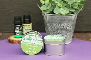 Handmade Essential Oils Muscle Ache Rub