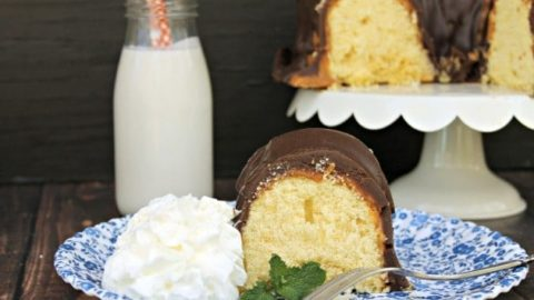 Twix Candy Bar Bundt Cake Recipe