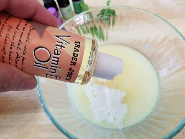 Rosemary and Mint Essential Oils Shampoo Bar Recipe step 6