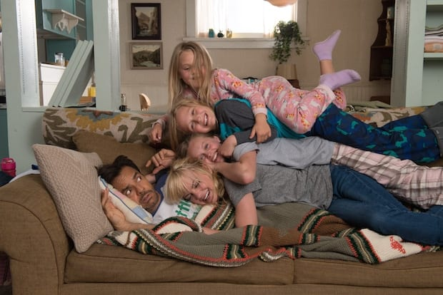 Overboard Movie Family Portrait