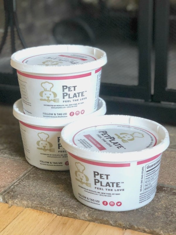 Pet Plate Dog Food Packaging