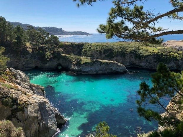 Point Lobos State Natural Reserve Lagoon