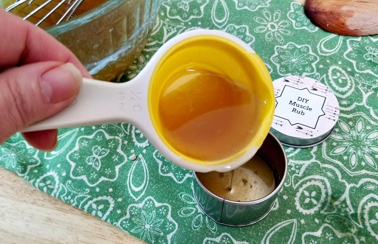 Handmade Essential Oils Muscle Ache Rub step11