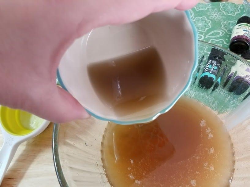 Handmade Essential Oils Muscle Ache Rub step5