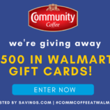Enter to Win One of TEN $50 Walmart Gift Cards!