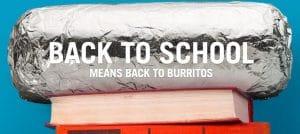 Chipotle: BOGO Burritos for Students – Saturday, August 18