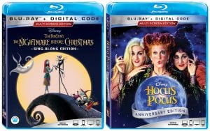 The Nightmare Before Christmas and Hocus Pocus 25th Anniversary Movie Editions Available September 2nd