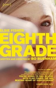Free Screening of EIGHTH GRADE Movie Wednesday