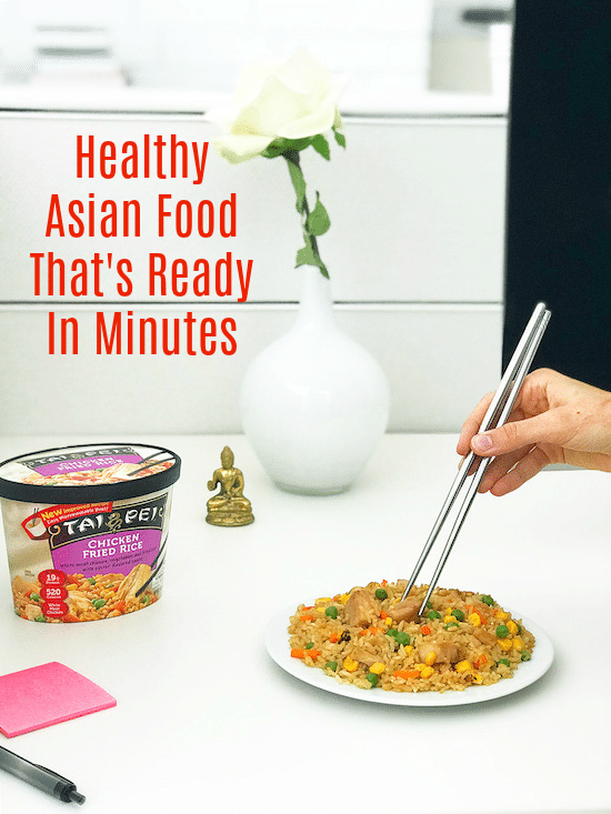 Healthy Asian Food That's Ready In Minutes