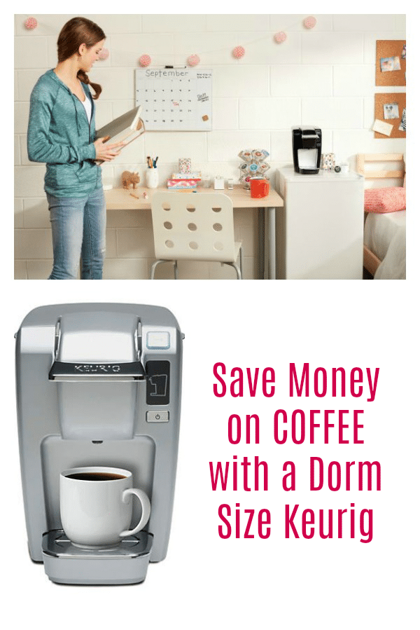 Save Money on Coffee with a Dorm Size Keurig