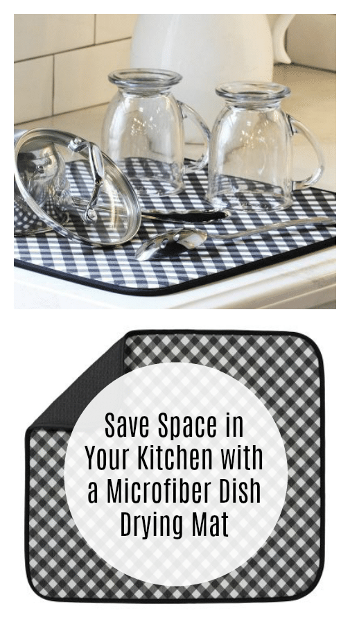 Save Space in Your Kitchen with a Microfiber Dish Drying Mat