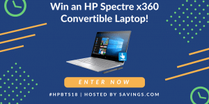 Great HP Deals and a #HPBTS18 $50 Gift Card and Convertible Laptop Giveaway!