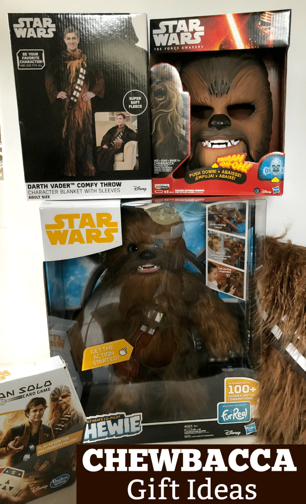 Chewbacca Gift Ideas