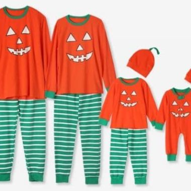 7bda7237c74 Matching Family Halloween Pajamas