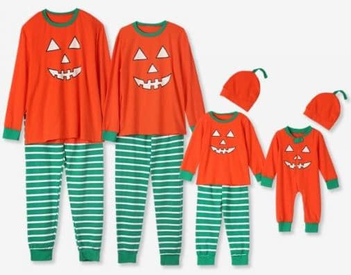 fe73cba08d Matching family Halloween pajamas are just SO DARN CUTE! Whether they're a Halloween  eve tradition, the outfit for some fun photos, or just a silly way to ...