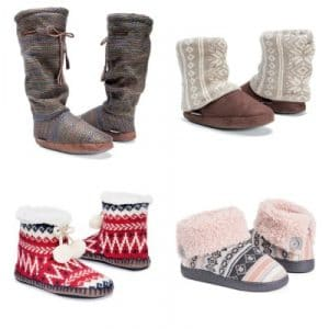 MUK LUKS Slippers on Zulily – $10.99 and Under (Up to 75% Off!)