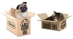 Treat Your Dog or Cat to a Mystery Goodie Box from Petmate.com and Buy One, Get One FREE!