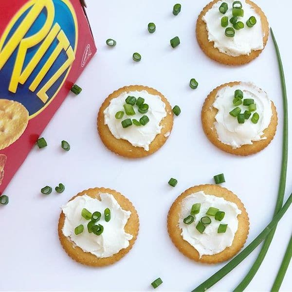 RITZ Crackers Cream Cheese Herbs