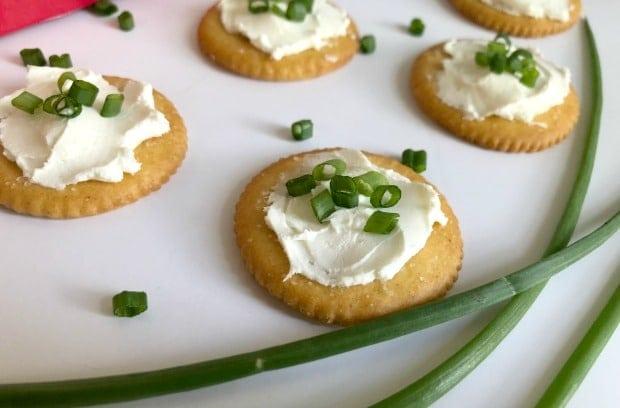 RITZ Cream Cheese Chive Snacks