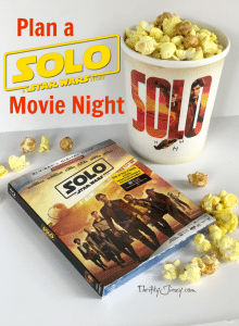 Plan a SOLO: A Star Wars Story Movie Night