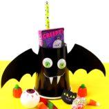 DIY Halloween Bat Treat Cups
