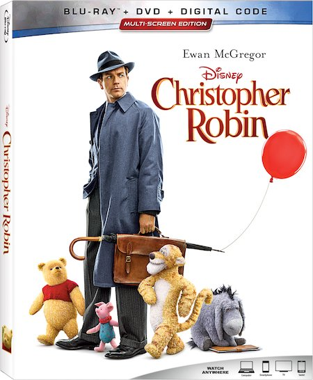 Christopher Robin Blu-ray Box Art 2018