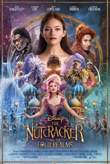 Disney Nutcracker Four Realms Poster