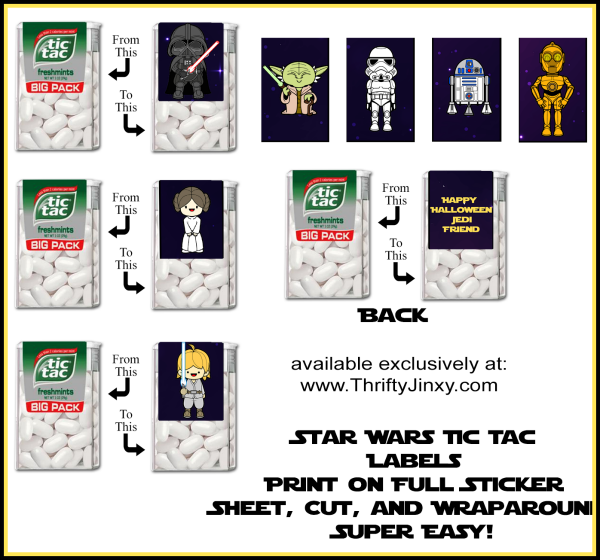 printable star wars halloween tic tac labels