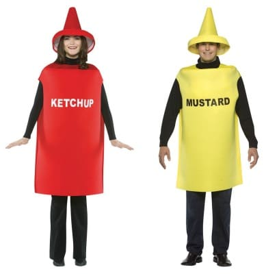 Ketchup Mustard Halloween Couples Costume