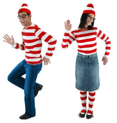 Where's Waldo Couples Costume