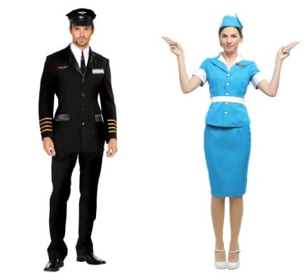 Pilot and Flight Crew costumes