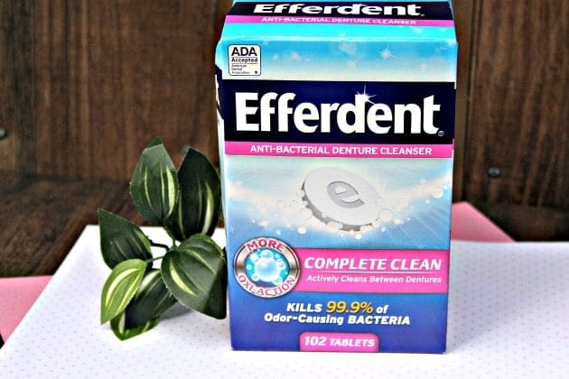 Efferdent Is Not Just For Cleaning Dentures Anymore! 2