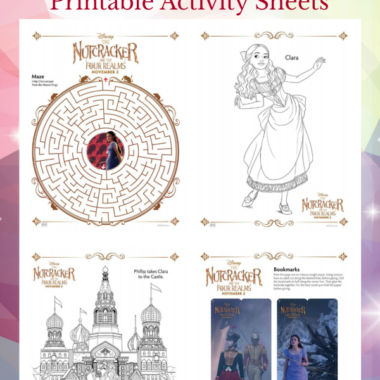 Nutcracker Printable Activity Sheets