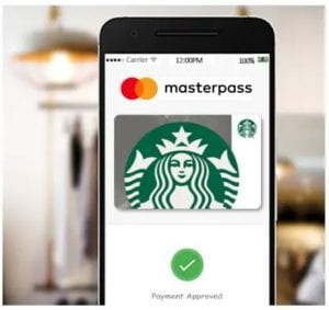 Buy $10 Starbucks Gift Card with Masterpass, Get $5 eGift Card FREE!