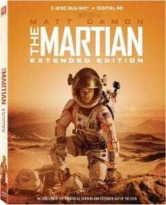 """Own """"The Martian"""" on Blu-ray for Just $9.99"""