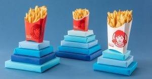 Wendy's Fries + 4-Piece Chicken Nuggets Just $1