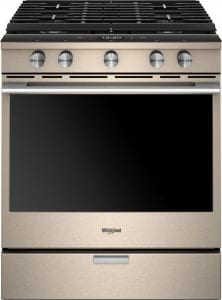 Check On Dinner from Any Room In Your House with the Whirlpool Gas Convection Range at Best Buy