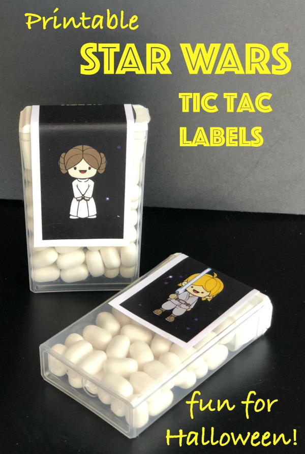 printable star wars tic tac labels