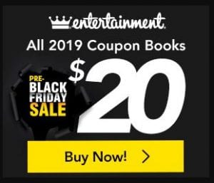 2019 Entertainment Book for $20 (or Less) + FREE Shipping