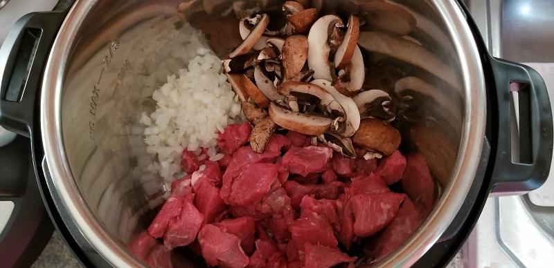 Asian Noodle Soup Steps 1-3