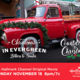 "Hallmark Channel's ""Christmas in Evergreen: Letters to Santa"" Premiering this Sunday, Nov 18th at 8pm/7! #CountdowntoChristmas"